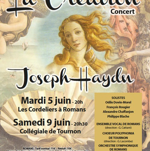 La création de J Haydn