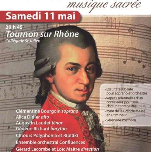 Concert Musique Sacrée de WA Mozart