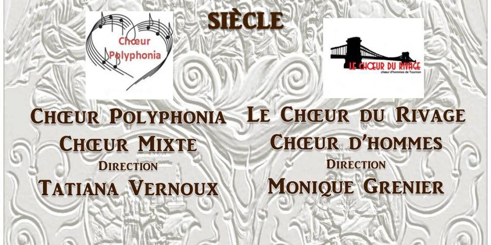 Affiche concert Claveyson et Guilherand-Granges