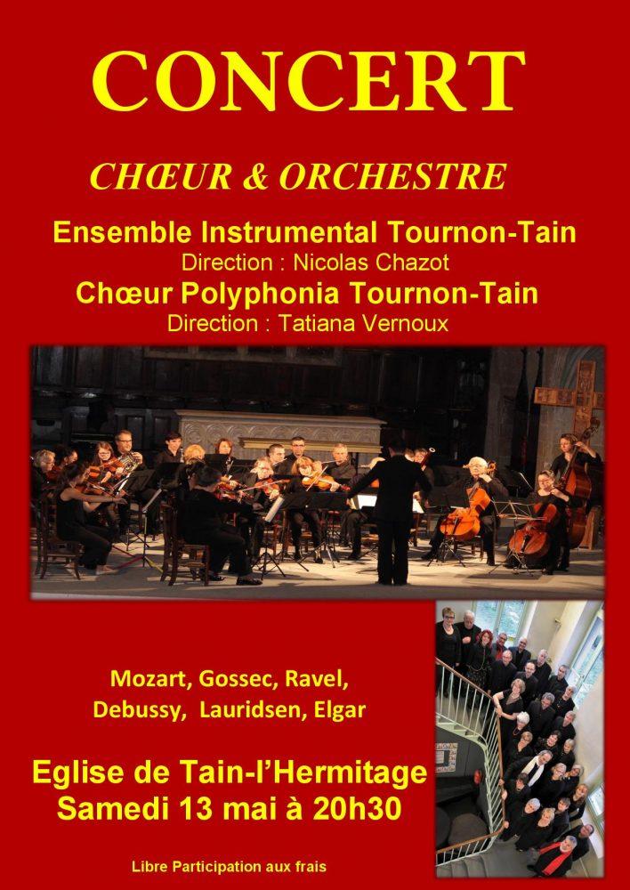 Concert 13 mai 2017 Tain l'hermitage