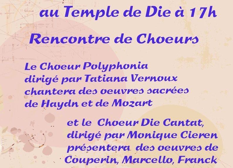 Concert au Temple de Die