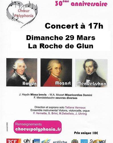 Affiche provisoire La Roche